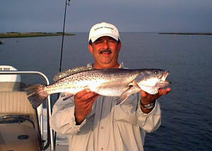 Speckled Trout Caught in Louisiana by Capt. Billy